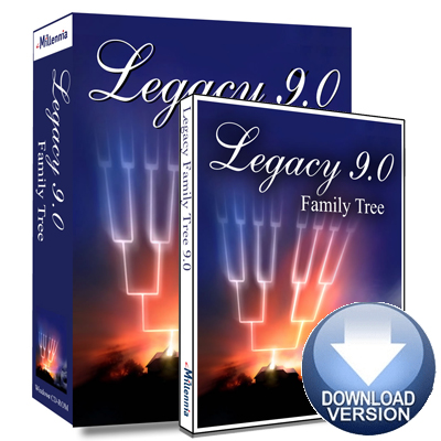 Legacy Family Tree Genealogy Software Upgrade To V9