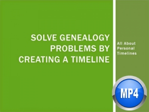 solving genealogy problems with timelines by beth foulk digital